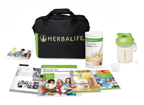 An Herbalife UK Member Pack