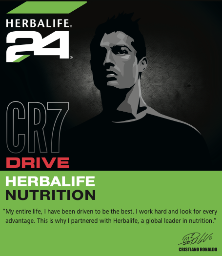HERBALIFE24 CR7 Drive - Christiano Ronaldo Statement