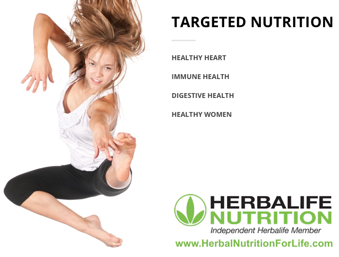 Herbal Nutrition for Life - Targeted Nutrition