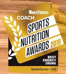 Herbalife Lift Off - 'Best Energy Drink' 2019 Mens Fitness UK magazine Sports Nutrition Awards
