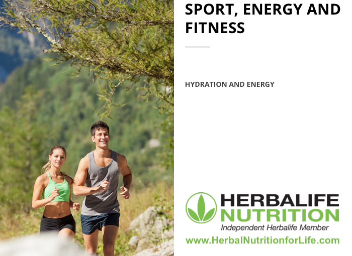 Herbalife - Sport, Energy and Fitness - Hydration and Energy