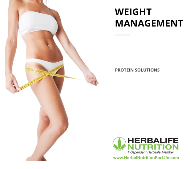 Herbal Nutrition for Life - Weight Management - Protein Solutions