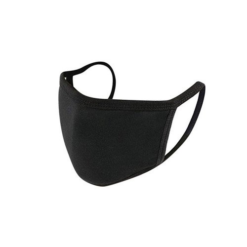 Standing Black Washable/reusable water repellent mask
