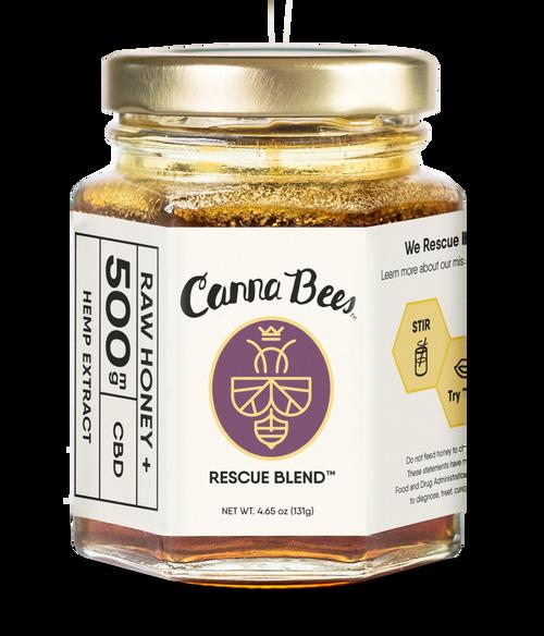 500mg Canna Bees CBD Honey Jar