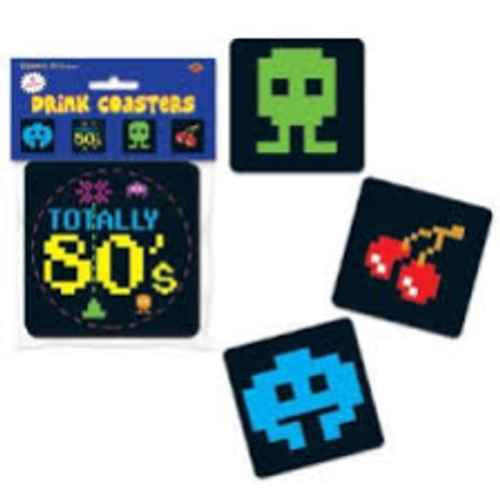 80's Drink Coasters
