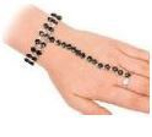 Bracelet with attached Ring Set