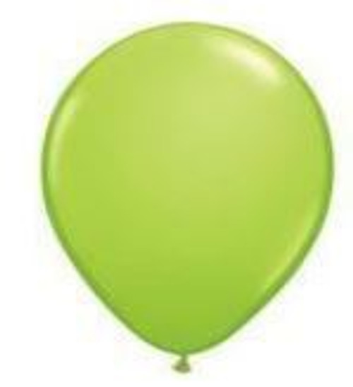Lime Green 12cm Balloons - Pack of 100