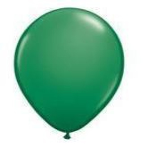 Green 12cm Balloons - Pack of 100