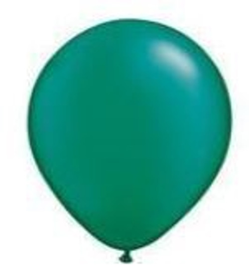 Pearl Emerald Green 12cm Balloons - Pack of 100