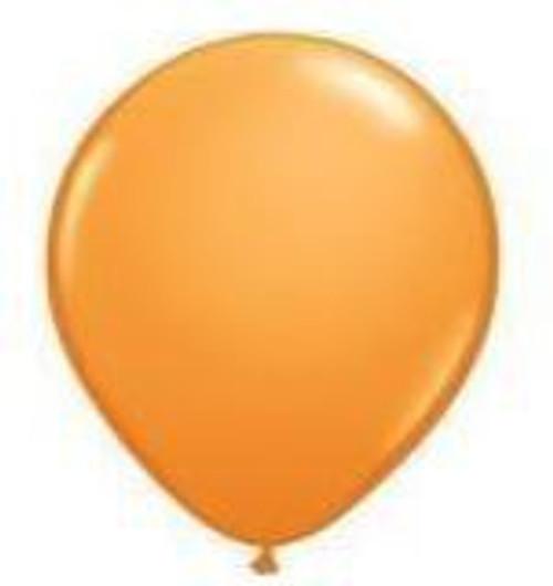 Orange 12cm Balloons - Pack of 100