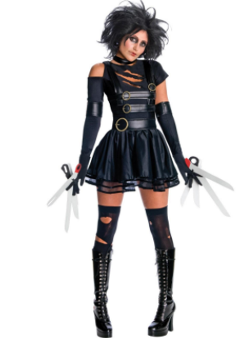 Miss Edward Scissorhands Costume - M