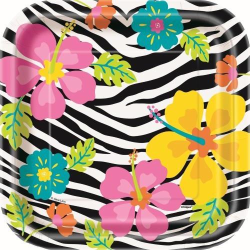 Wild Luau Lunch Plates