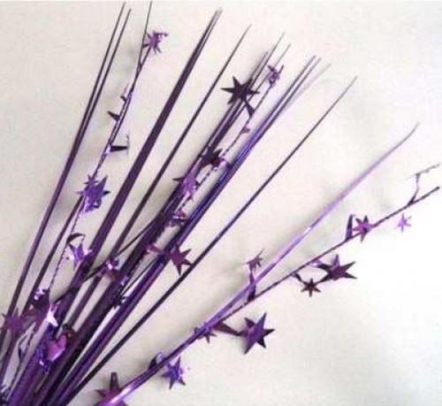Decorative Spray - Purple Stars