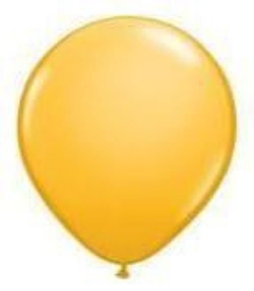 Goldenrod 12cm Balloons - Pack of 100