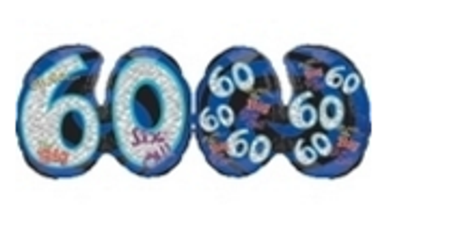 Oh NoIts My Birthday 60 Prismatic Supershape