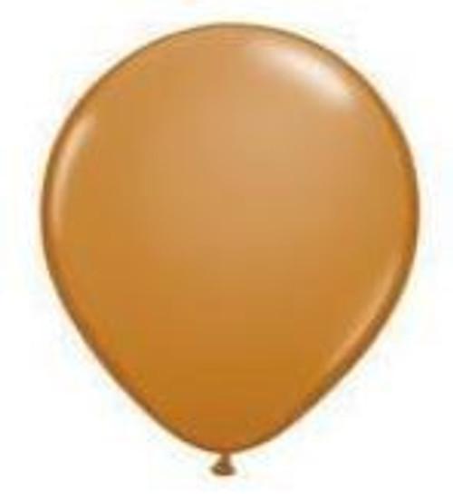 Mocha Brown 12cm Balloons - Pack of 100