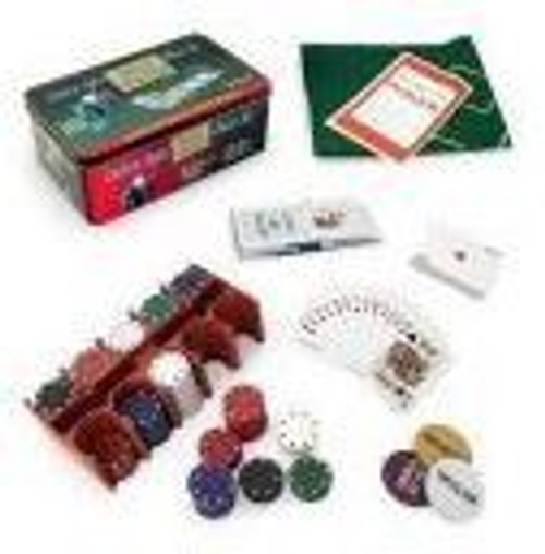 Casino Style Texas Hold' Em Poker Set