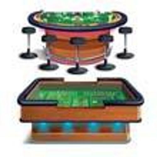 Craps and Blackjack Tables Casino Props