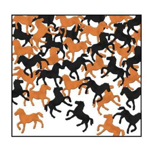 Scatters - Horse - Black and Copper