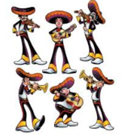 Fiesta Cutout Men