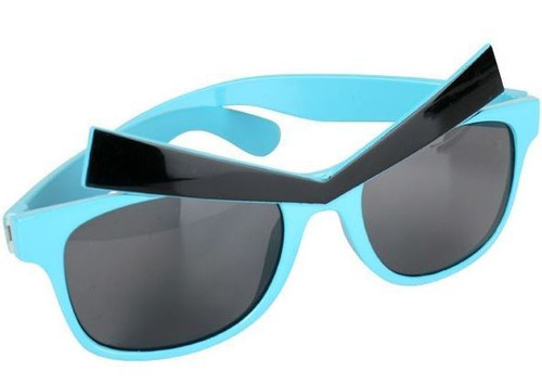 Glasses Angry Eyes Blue