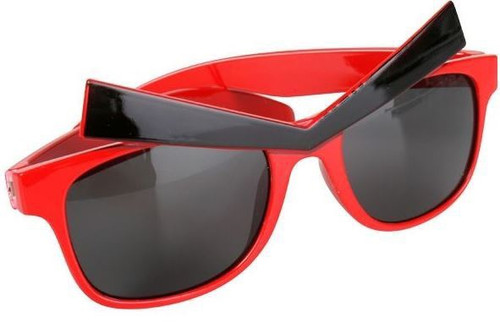 Glasses Angry Eyes Red