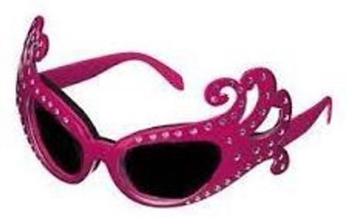 Glasses Dame Edna Pink