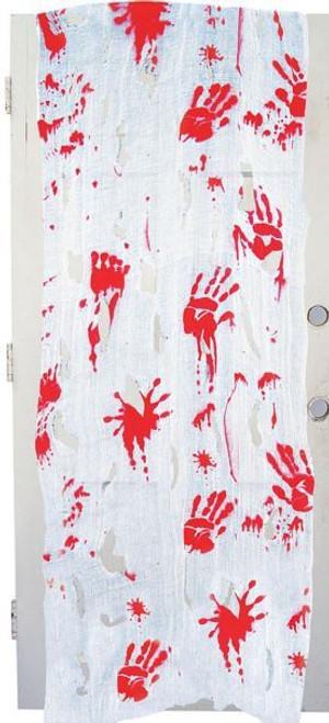 Bloody Hand Door Decoration