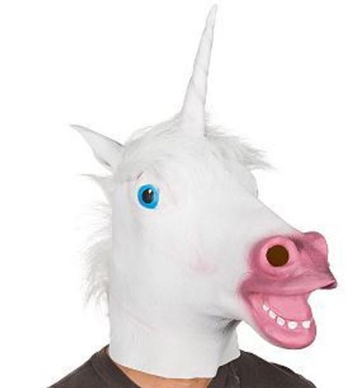 Unicorn Rubber Latex Mask