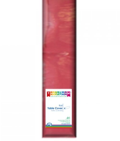 Tablecover Roll - Burgandy
