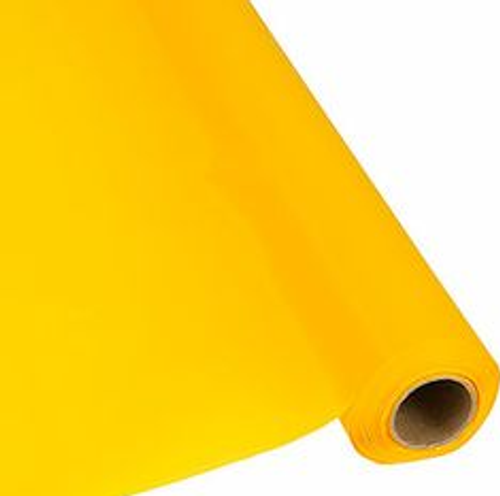 Table Cover Roll - Yellow