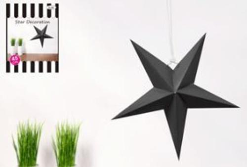 Black Star Decoration