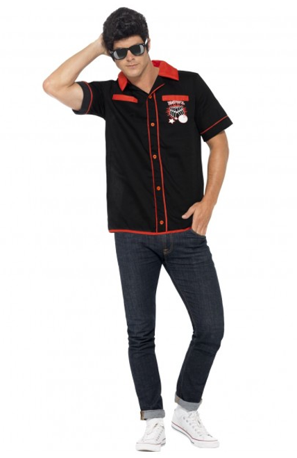 Strike It Lucky 50's Bowling Shirt - M