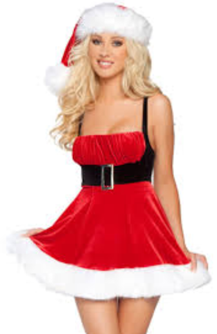Santa's Envy Mrs Claus M/L