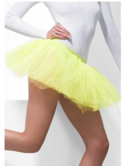 Neon Yellow Tutu Underskirt 4 Layers