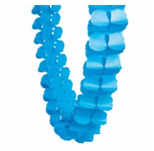 Honeycomb Garland - Electric Blue