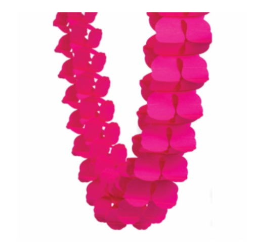 Honeycomb Garland - Magenta