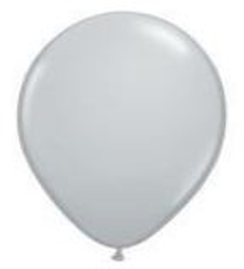 Grey 12cm Balloons - Pack of 100