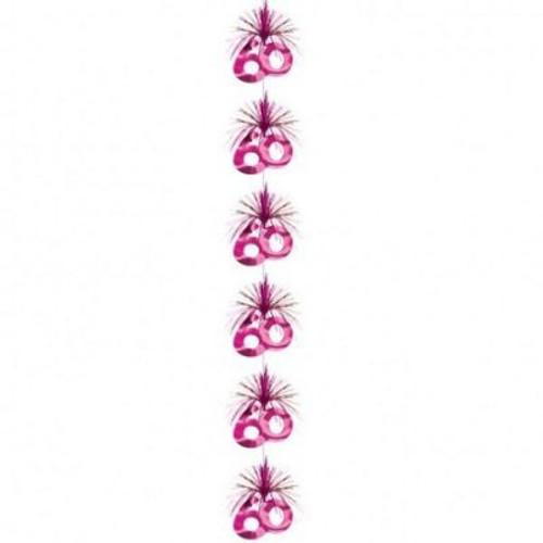 60 Pink Party Cascade Column