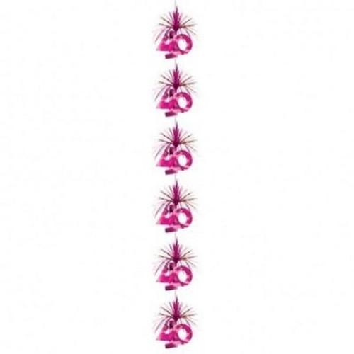 40 Pink Party Cascade Column