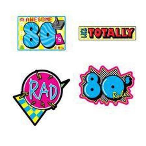 Awesome 80's Cutouts