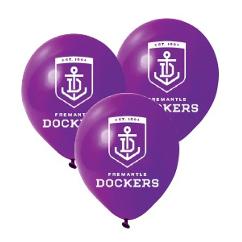 Fremantle Dockers AFL Balloons