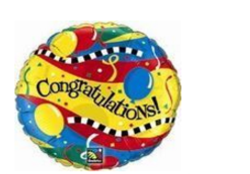 Congratulations Party Foil Balloon