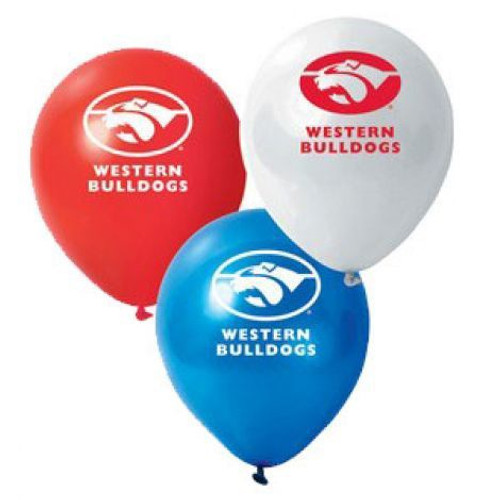 Western Bulldogs AFL balloon