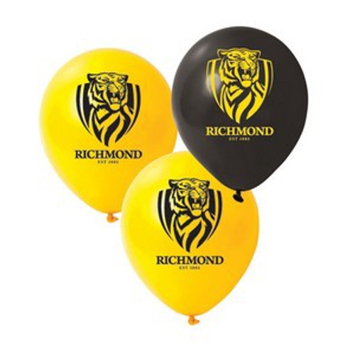 Richmond Tigers AFL Balloon