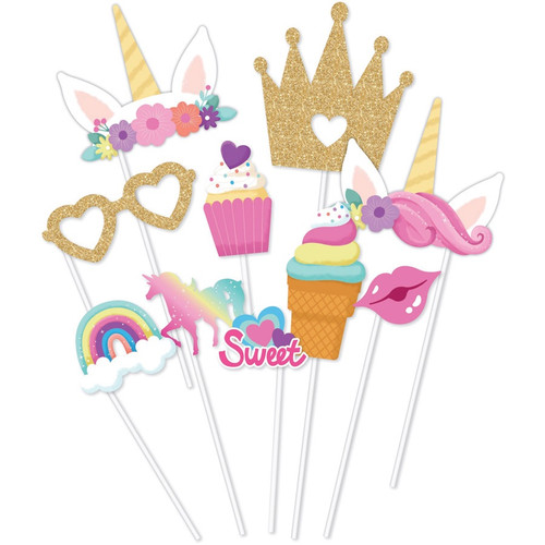 Unicorn Photo Props