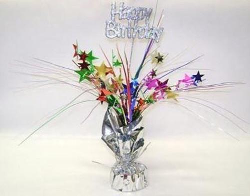 Centrepiece Weight Happy Birthday