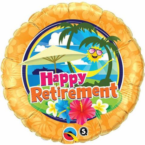 Retirement Sunshine Foil Balloon