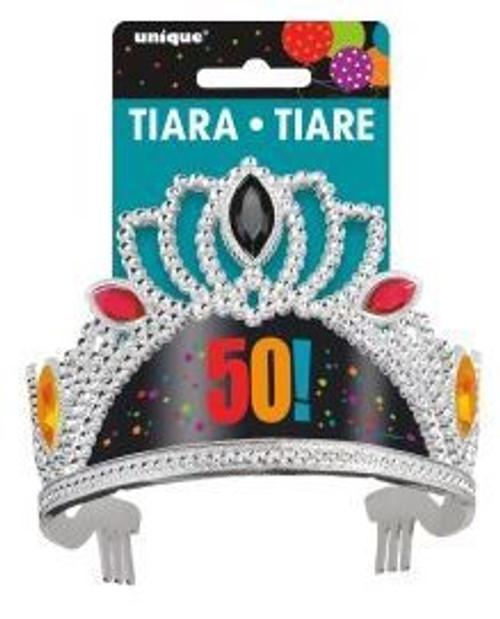 Birthday Cheer Tiara 50