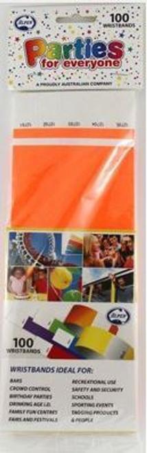 Wristbands - Orange